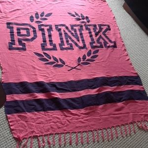Victoria's Secret Pink soft cotton blanket